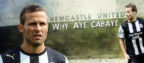 Cabaye à l'époque de Newcastle.