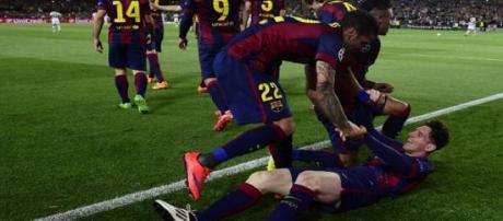 Messi décisif face au Bayern Munich