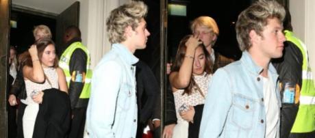 Niall Horan com Matilde Mourinho, em Londres