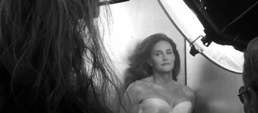 Caitlyn Jenner en sesión de fotos para Vanity Fair