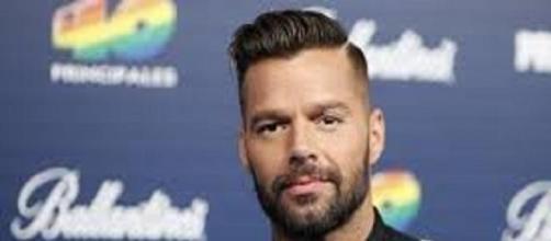 Il famoso cantante portoricano Ricky Martin.