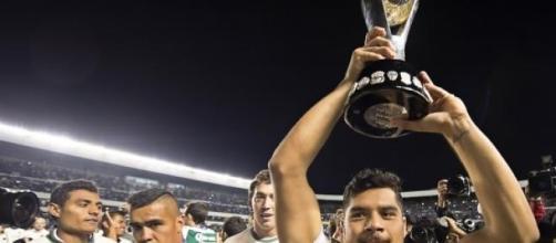 """Javier """"chuletita"""" Orozco, campeón con Santos"""