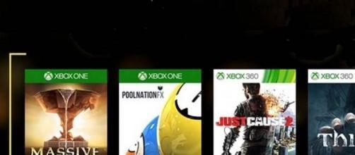 Los juegos disponibles para la descarga