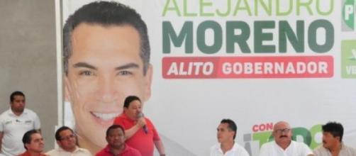Moreno y su candidatura en Campeche