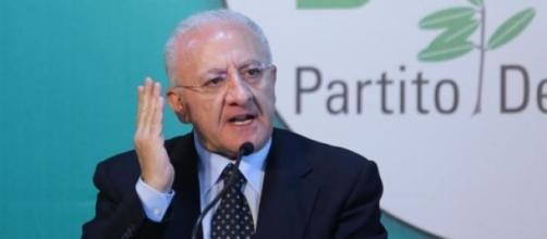 Vincenzo De Luca, nuovo presidente Campania