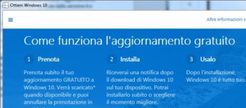 Windows 10. Come funziona l'aggiornamento