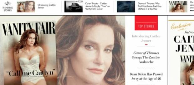 Caitlyn Jenner shows her new face and body.