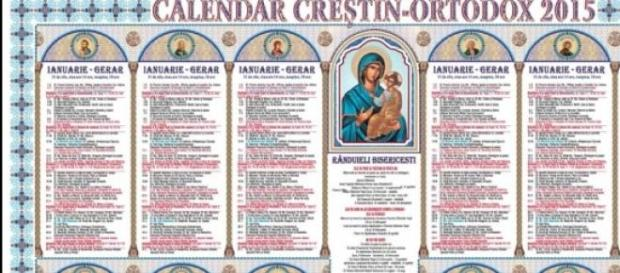 calendar crestin ortodocs