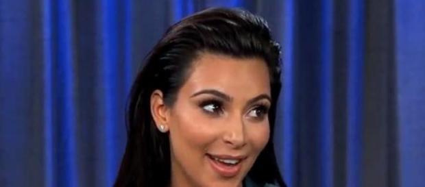Kim Kardashian já é mãe de uma menina