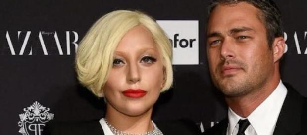 Lady Gaga et son fiancé Taylor Kinney.