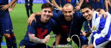Messi y Mascherano, entre los mejores del año