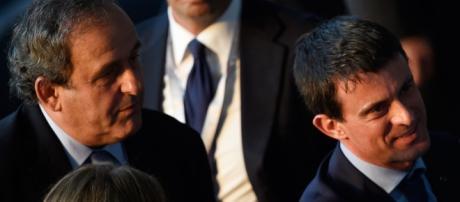 Michel Platini Manuel Valls - opinion