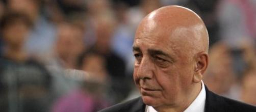 Adriano Galliani al lavoro per il Milan