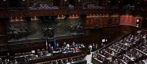 Aula parlamentare di Montecitorio