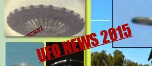 Avvistamenti UFO 2015 in Italia e nel mondo