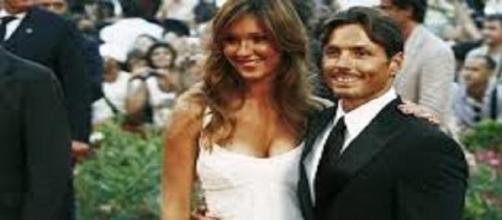 I coniugi Piersilvio Berlusconi e Silvia Toffanin.