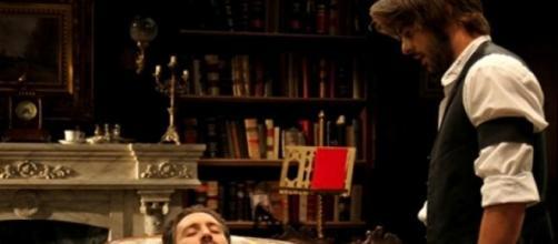 Il Segreto: la morte ed il funerale di Tristan