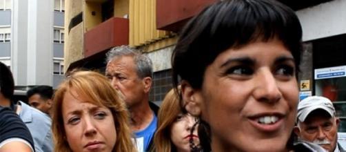 Teresa Rodríguez explicó las medidas de Podemos