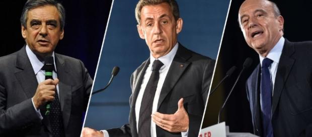 Alain juppe Nicolas Sarkozy Francois Fillon
