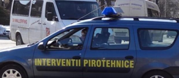 Alertă cu bombă lângă Gara Iași