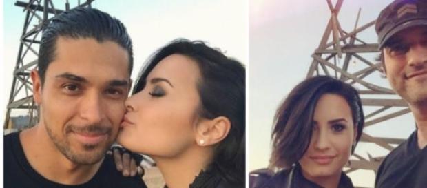 Demi Lovato no set da série (Fotos: Instagram DL)