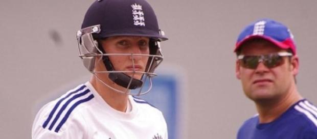 Joe Root (left) scored a superb century