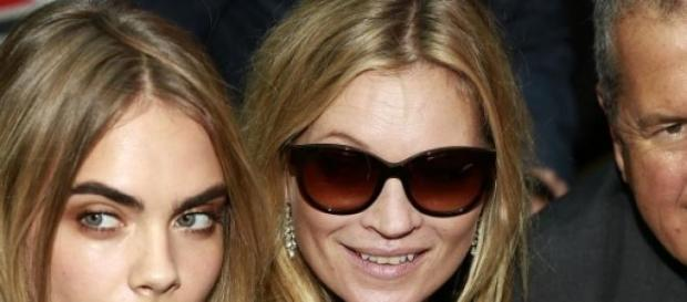 Kate Moss ist mit 41 Jahren als Model erfolgreich.