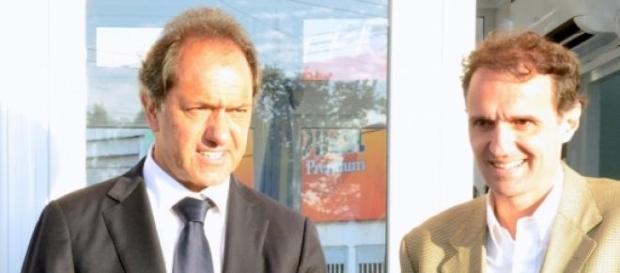 Katopodis y Scioli, ambos en FPV