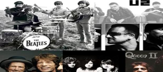 Las mejores 5 bandas de rock de la historia