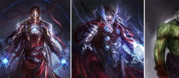 Marvel: los Vengadores medievales