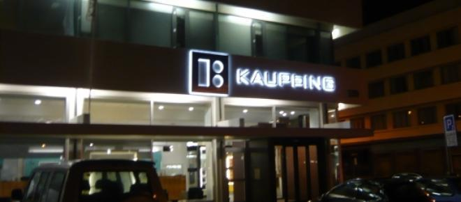 Kaupthing, one of Iceland's big lenders in 2008.