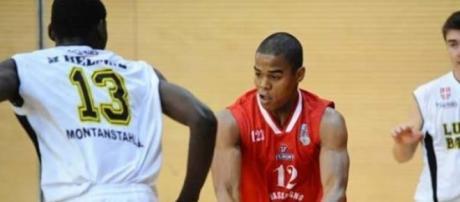 Fernando Mussongo em competição