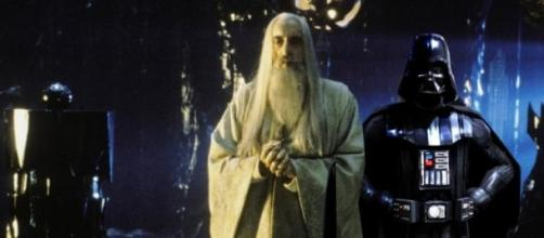 Christopher Lee, Saruman il Bianco in Star Wars