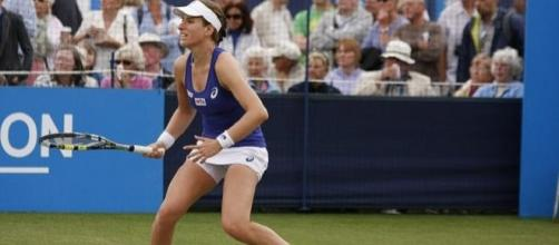 Konta had a solid victory in round 1 in Nottingham