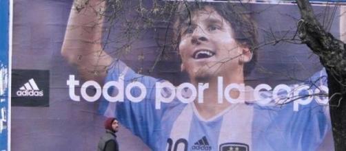 Lionel Messi, todo por la Copa