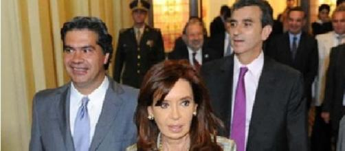 Randazzo, Capitanich y Cristina