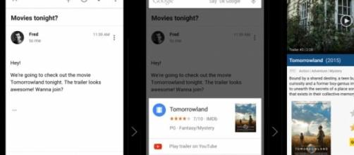 This is Google Now on Tap