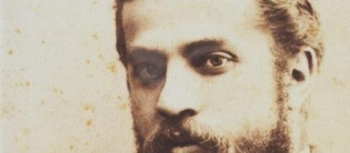 Una foto storica di Antoni Gaudì.