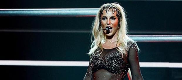 Britney Spears em Show da POM em Vegas
