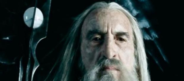 Christopher Lee interpretó a Saruman