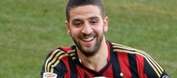 Esteve emprestado ao Milan na época passada.