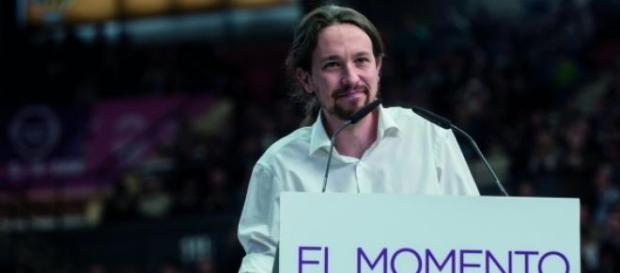 """Pablo Iglesias: slogan """"El momento es ahora"""""""
