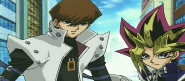 Seto Kaiba y Yami, los eternos rivales.