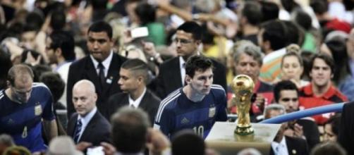 Lionel Messi y su gran anhelo, la Copa del Mundo