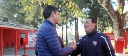 Pellegrino visitó el predio de Villa Domínico
