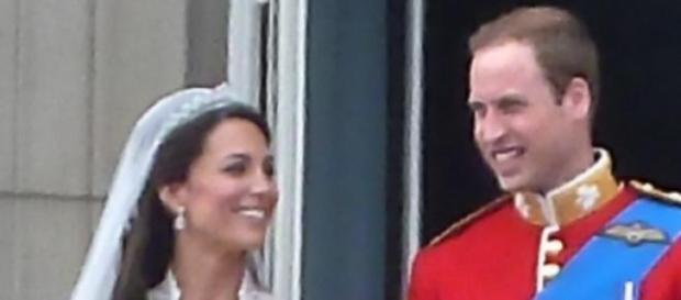 Cuplul regal Kate&William în ziua căsătoriei lor