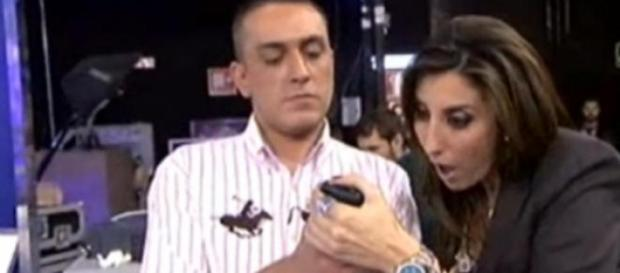 Kiko Hernández y Paz Padilla
