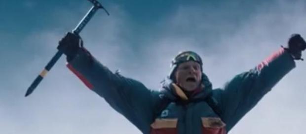 llegada a la cima del Everest