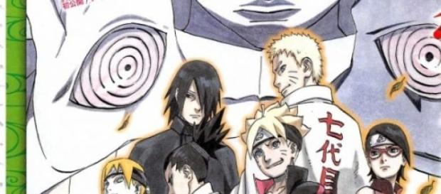 Poster promocional de Baruto -Naruto The Movie-