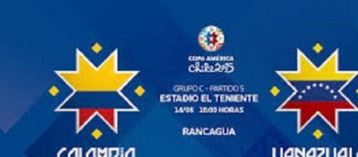 Colombia - Venezuela, Copa America, gruppo C